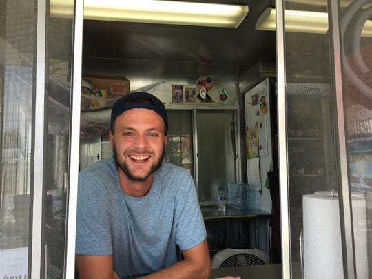 Joe Still is an owner of Skully's Food Truck, which recently moved from Tampa Street to White River Brewing Company on Commercial Street. He was formerly a chef at Golden Girl Rum Club.