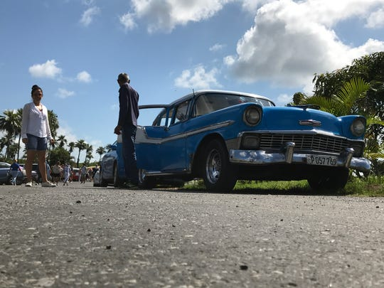 "Shooting this classic car in Cuba from a low angle was ""meh"" in this shot."