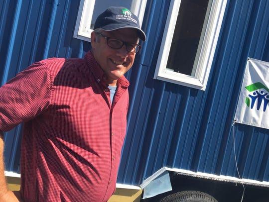 Lance Barton, executive director of the Staunton-Augusta-Waynesboro