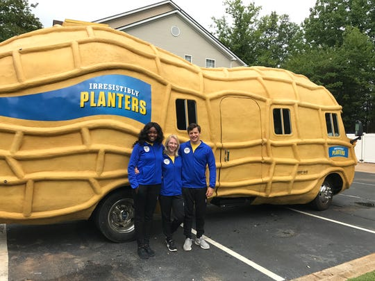 The NUTmobile east region crew is two months in to a 12 month job. Aug. 10, 2017