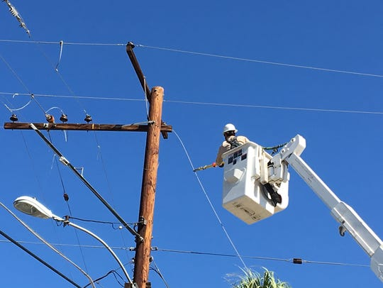 Utilities are overspending by billions to overhaul aging equipment, reports find. (Photo by Colin Atagi/Desert Sun)