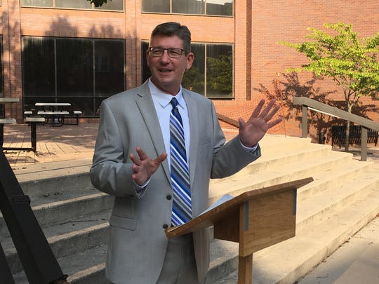 Salisbury City Councilman Jim Ireton announces he plans to run for Wicomico County Clerk of the Circuit Court in the 2018 election,