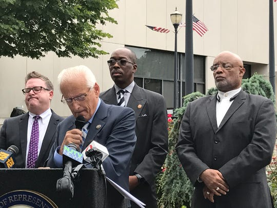 Rep. Bill Pascrell Jr. holds a press conference in