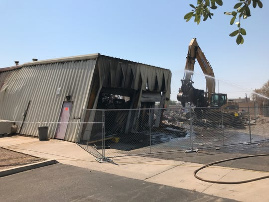 A June 17 fire destroyed Southwest Shakespeare Company's