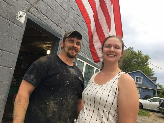 Stephen and Jessie Sample are working on a new brewery