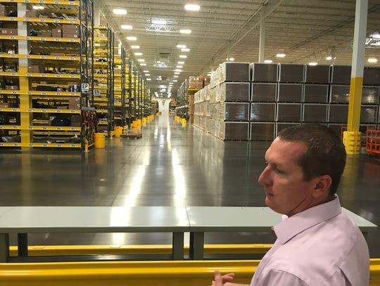 Senior Manager John Kutz looks across Volkswagen's