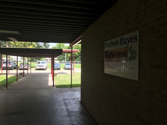 Hadnot-Hayes S.T.E.M. Elementary School in Alexandria.
