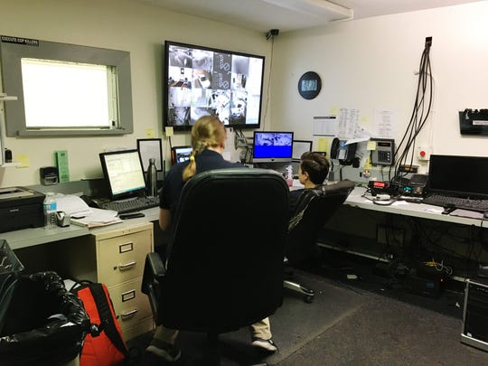 Put-in-Bay police dispatch typically handles a high volume of calls on weekend nights.