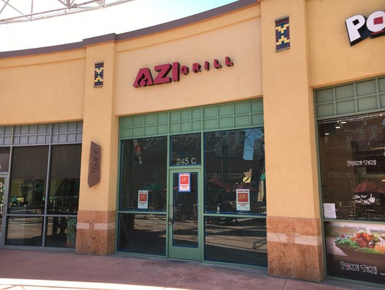 Azi Grill is now open in the Janss Marketplace food
