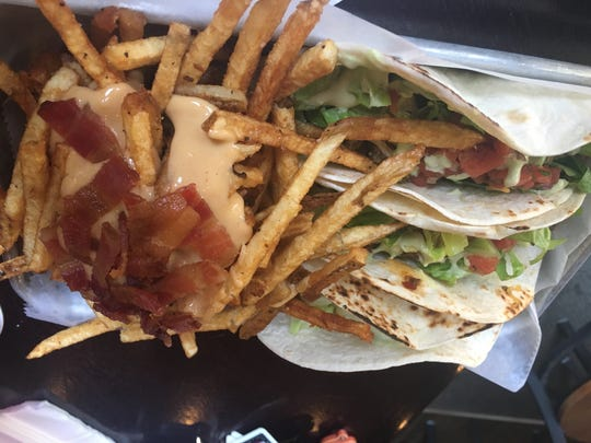People's Brewing Company's Revel Room in Lebanon serves up beef tacos and B&B fries loaded with bacon and beer cheese.