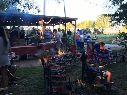 Bring your own chair or blanket, pack some bug spray, and enjoy the evening at Millsap Farms. It's a BYOB event if you want to bring wine or beer. Just clean up after yourself.