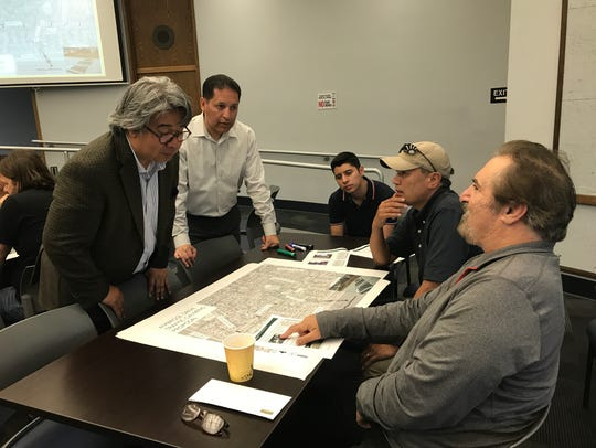 City staff are working with residents to produce a