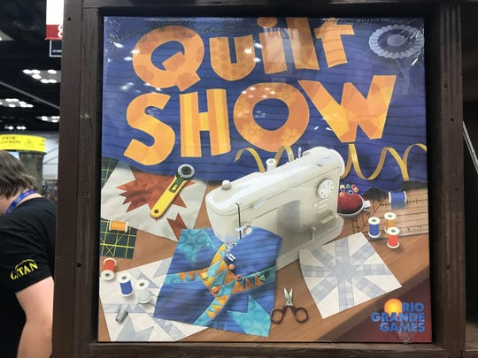 Fans can buy the game Quilt Show at Gen Con 2017.