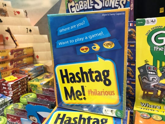 Fans can buy the game Hashtag Me! at Gen Con 2017.