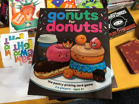 Fans can buy the game Go Nuts for Donuts! at Gen Con 2017.