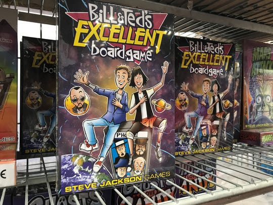 Fans can buy Bill and Ted's Excellent Board Game at Gen Con 2017.
