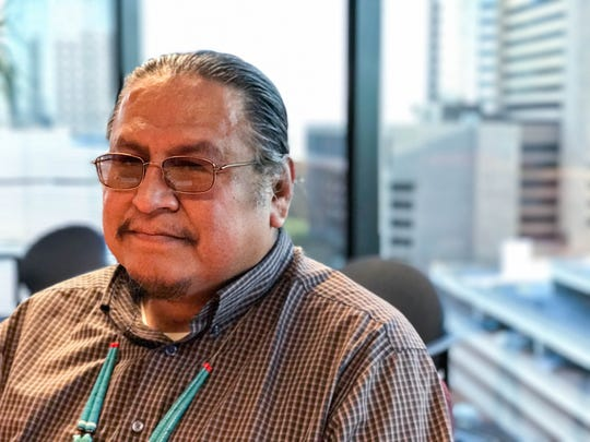 Freddie Johnson is a Navajo culture and language consultant