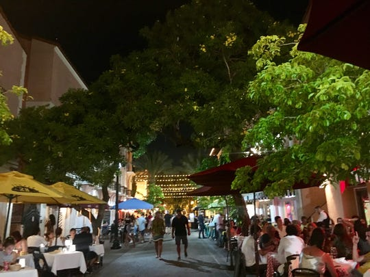 Española Way is a picturesque, European-inspired area  on Miami's South Beach.