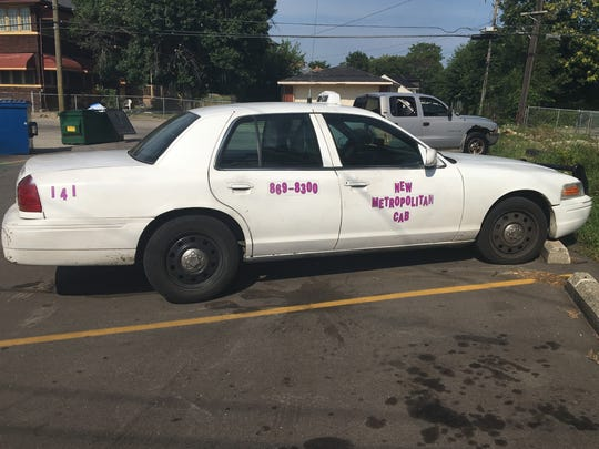 A taxi for Highland Park-based New Metropolitan Cab