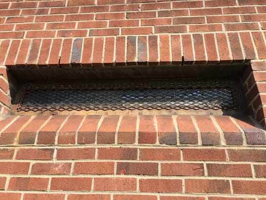 A picture of a Cheatham County Jail window from the