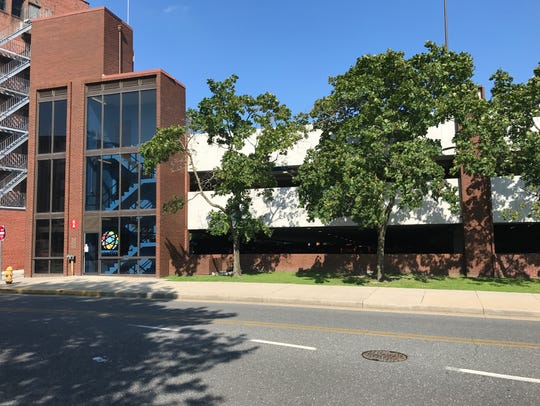 The downtown parking garage in Salisbury.