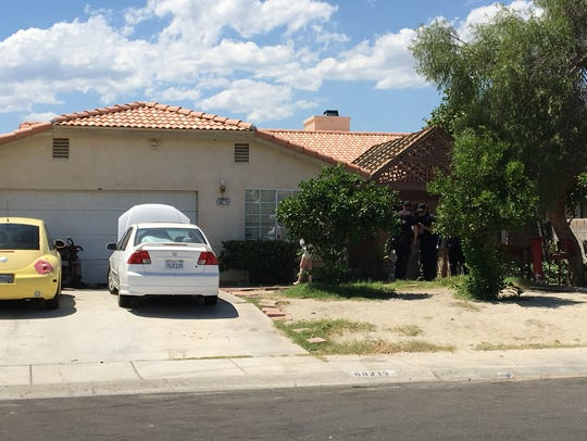 Cathedral City police investigate a home where a standoff