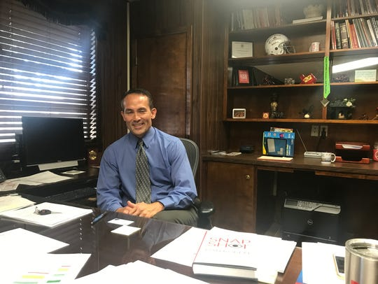 George McFarland, new superintendent of Sweetwater