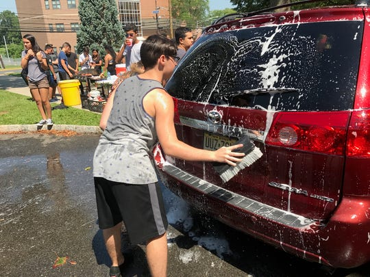 The Linden High School NJROTC car wash raised far more money last week than the cadets and their leaders could have hoped – thanks to one generous family.