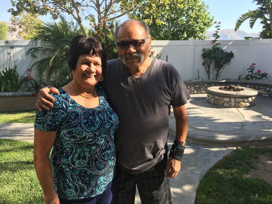 Rita Avila and her husband, Rojelio Avila. Rita has been a caregiver for her husband for the past 20 years and recently joined a Spanish-language support group run by the Family Caregiver Resource Center.