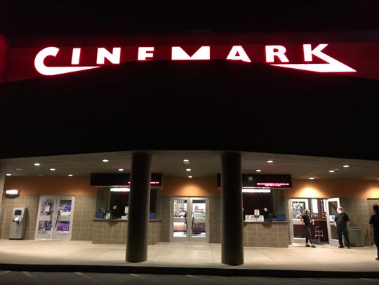 Cinemark Redding 14, pictured Thursday, is closed as