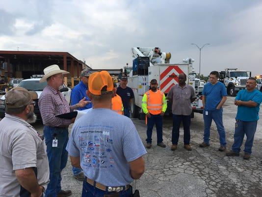 San Angelo TxDOT hurricane Harvey response