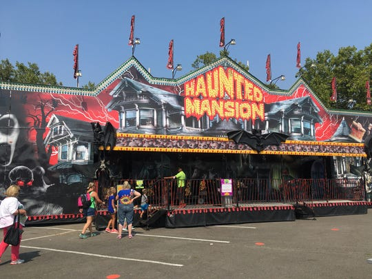 The Oregon State Fair's Haunted Mansion isn't really