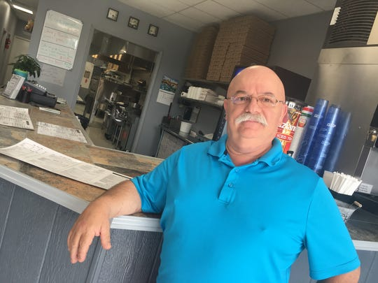 Nick DiMeglio, the co-owner of Giovanna's in Greenville.