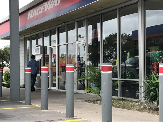Raceway, a gas station and convenience store at 13621 Northwest Boulevard in the Calallen area was closed Monday, Aug, 28, 2017.