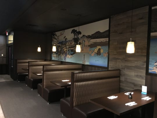 Before opening on Aug. 17, Sushi Lover owners Suo Suo
