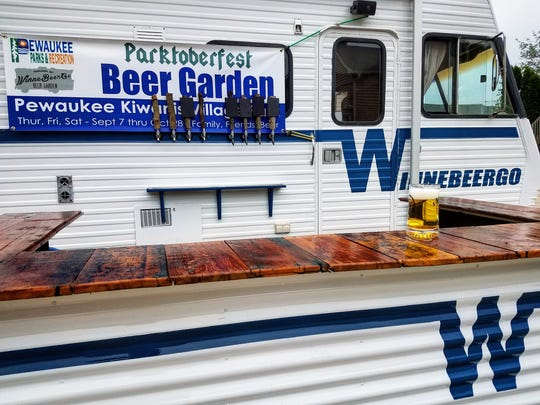 The WinneBeerGo serves Pewaukee parks.