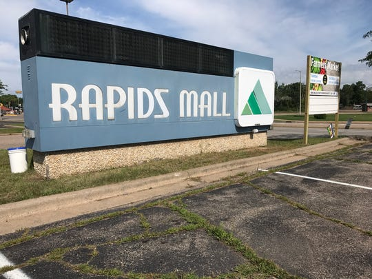 The Rapids Mall is located at 555 W. Grand Ave. in