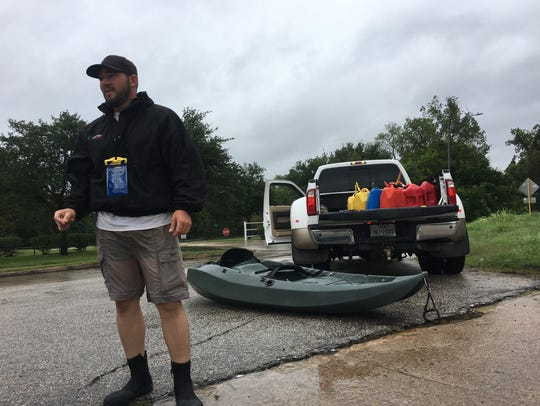 Brett Schere, 34, of Drippings Springs, Texas, traveled