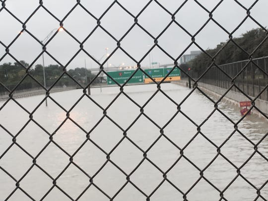 Texas State Highway Beltway 8 is one of several highways around Houston to completely submerge.