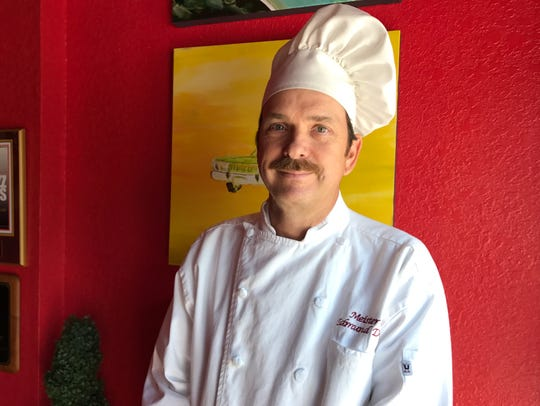 Chef/owner Edmund Deleuil of Heidelberg in Cocoa Beach