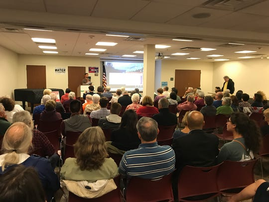 A town hall focused on proposed cuts to the EPA budget