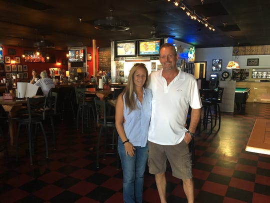 Bob and Nicole Burns own Ralph's Place in south Cape