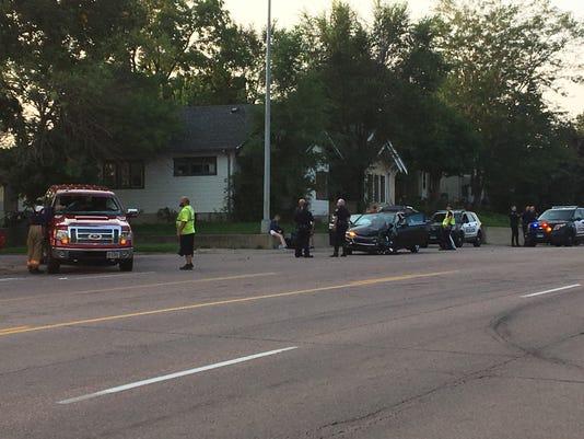 Minnesota Ave crash