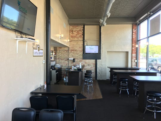 The interior of Maria's Mexican Restaurant at the corner