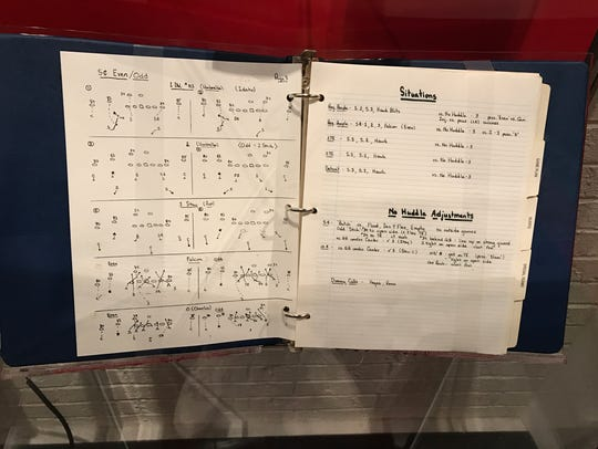 Bill Belichick's playbook from Super Bowl XXV is on