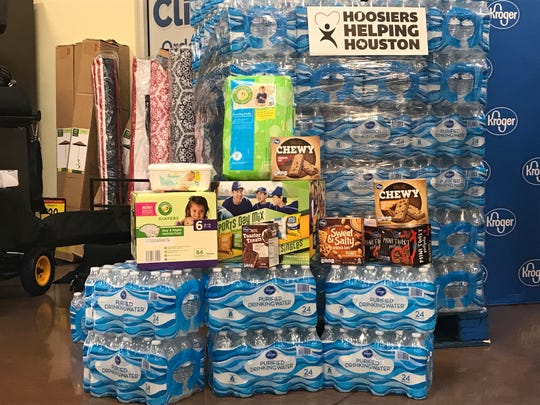 Hoosiers Helping Houston will take donations Sept. 7 through Sept. 9
