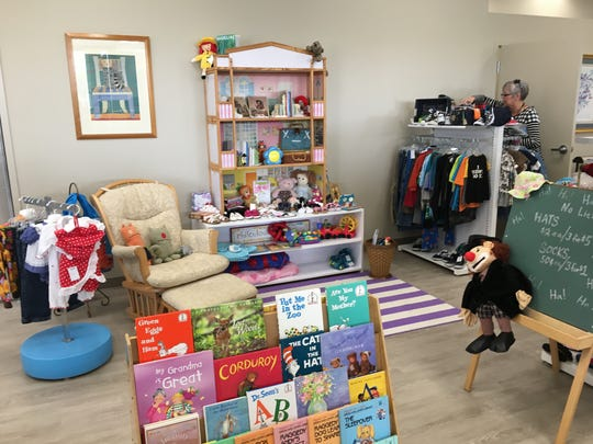 In addition to clothing for women, men and children, along with housewares, accent furniture and other merchandise, the LACASA Collection also features a children's section, pictured here on Sept. 1, 2017.