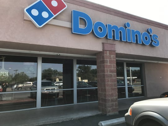Domino's Pizza, 2223 W. Ave. N, calls itself a pizza theater. Diners can walk in and watch pizza being made. They are helping with Hurricane Harvey relief efforts.