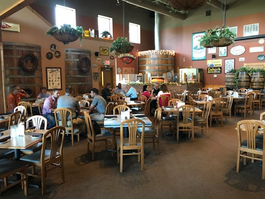 The Delafield Brewhaus' dining area has a capacity of 300 and brings a fun, but family-friendly atmosphere.