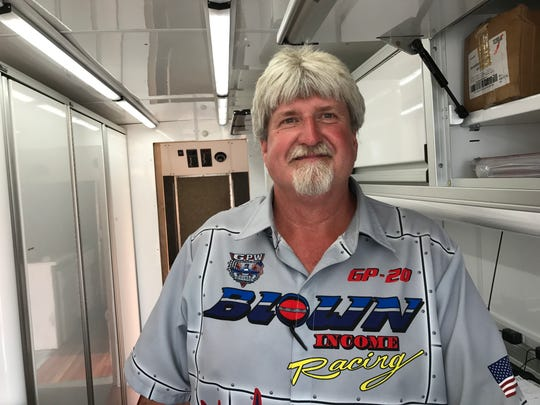 GP-20 Jagoe Homes driver Ed Preston was concerned about the water conditions at HydroFest
